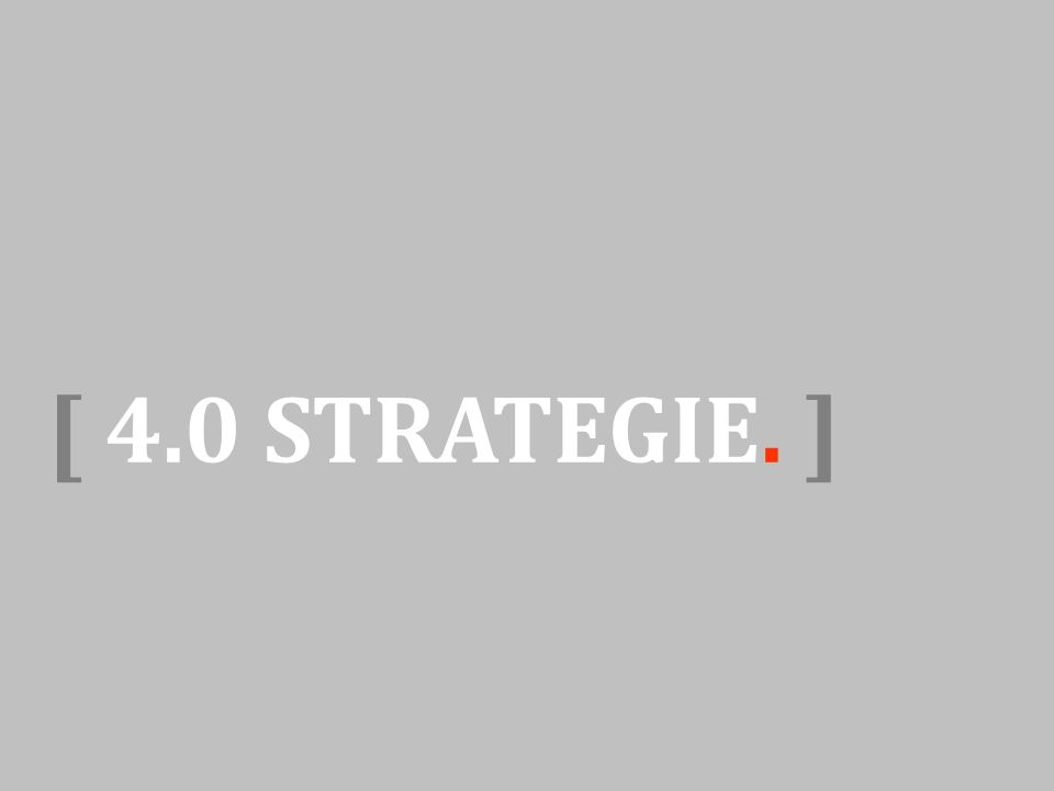 [ 4.0 STRATEGIE. ]